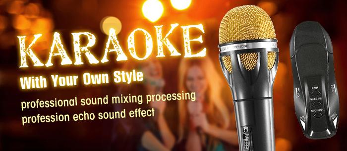 Docooler K18 Karaoke Microphone