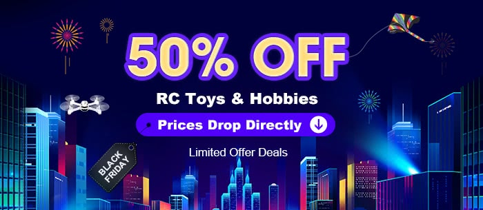 50% OFF - RC Toys & Hobbies