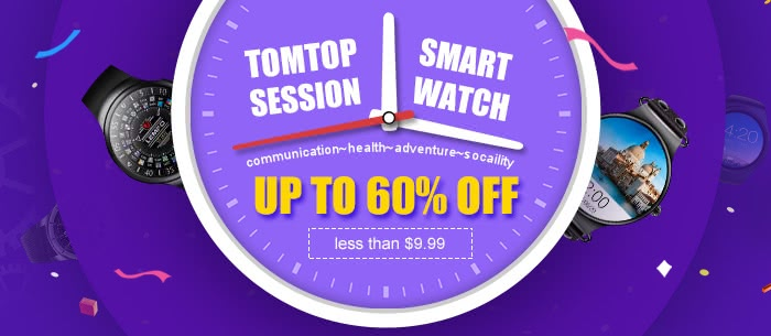 Cheap Smart Watch Session Up to 60% Off