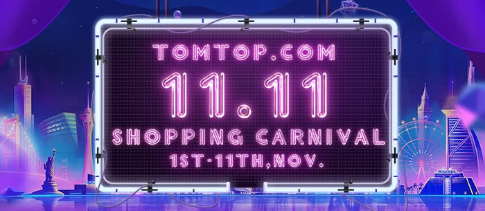 TOMTOP 11.11 SHOPPING CARNIVAL