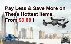 Pay Less & Save More on  These Hottest Items, From $3.88 !