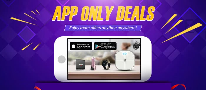 Find Deals Only For APP