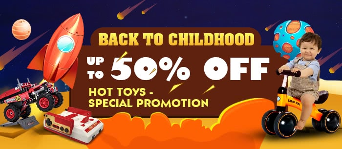 Cool Gifts for Kids Up To 50% Off | Tomtop