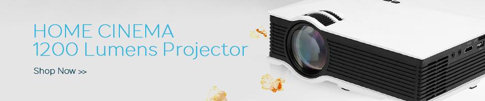 HOME CINEMA  1200 Lumens Projector