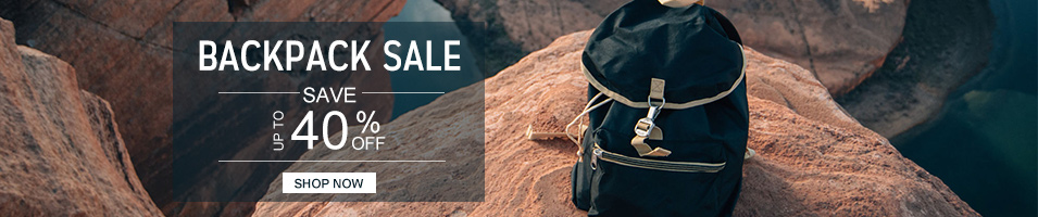 BACKPACK SALE  SAVE UP TO 40% OFF