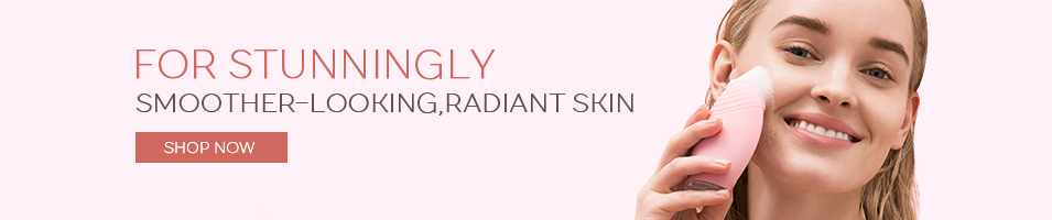 """FOR STUNNINGLY SMOOTHER-LOOKING, RADIANT SKIN"""