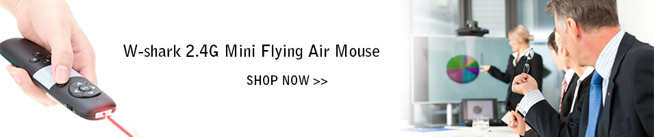 W-shark 2.4G Mini Flying Air Mouse