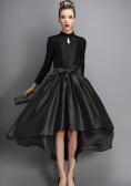 European Style New Fashion Ladies Women Career Leisure Solid Irregular Hem Skirt
