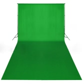 Green Backdrop 600 x 300 cm Chroma key UK