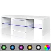 LED High Gloss White TV Stand 150 cm