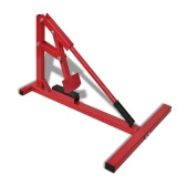 Professional Motorcycle Tire Changer Red