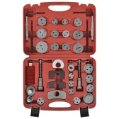 Brake Caliper Piston Wind Back Tool Kit 35 pcs