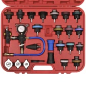 27 pcs Radiator Pressure Tester with Vacuum Purge and Refill Kit