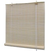 Natural Bamboo Roller Blind 120 x 160 cm