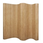 Room Divider Bamboo Natural