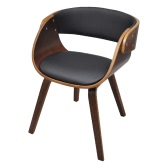 Dining Chair with Padded Bentwood Seat