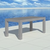 Concrete Dining Table Rectangular