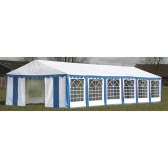 Party Tent Top and Side Panels 12 x 6 m Blue & White