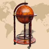 Globe Bar Wine Container