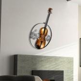 Tooarts Violín ornamento colgante Decoración colgados en la pared de la decoración del instrumento de música regalo del arte