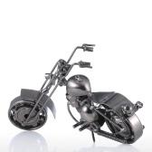 Iron Art Motorcycle Tooarts Home Decoration Handicraft Metal Sculpture Modern Sculpture Crafts Artwork Gift