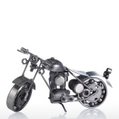 Iron Art Motorcycle Tooarts Home Decoration Handicraft Metal Sculpture Modern Sculpture Crafts Artwork Gift