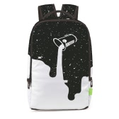 Charming Women Men 3D Splash-ink Travel Satchel Backpack Rucksack Shoulder Bookbag School Bag