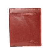 New Fashion Men Wallet PU Leather ID Credit Card Holder Case Cash Clip Coffee/Brown/Dark Green