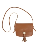 New PU Leather Shoulder Bag for Women Cute Solid Casual Crossbody Bags Girls Mini Bag Tote Black/Brown/Grey
