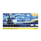 Keyboard Sticker Starry Night for Macbook Pro 13'' 15''