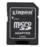 Kingston TF MicroSD Flash Memory Card to Full Size SDHC Adapter Case for Cell Phone Camera