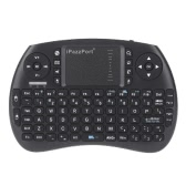 iPazzPort 2.4G Mini Wireless QWERTY Keyboard and Mouse Touchpad Combo with Backlit for for Android TV Box/Google TV Box/PC/Pad KP-810-21SL