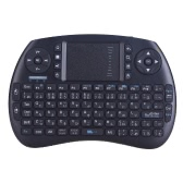 Teclado QWERTY iPazzPort mini Bluetooth inalámbrico y ratón touchpad combinado para Android TV Box / caja de Google TV / PC / Pad KP-810-21BT Inglés Japonés