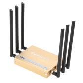 300Mbps Wireless Long Range Wi-Fi Gigabit Router High Power 6 * 5dBi External Antennas Support 802.11b/g/n for Home Company Office Hotel