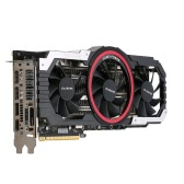Colorfire RX 580 Ustorm-8GD5 8GB/256bit GDDR5 Gaming Graphics Card DP+HDMI+DVI Port with 3 Cooling Fans