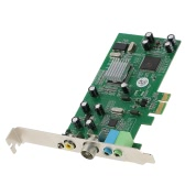PCI-E Internal TV Tuner Card MPEG Video DVR Capture Recorder PAL BG PAL I NTSC SECAM PC PCI-E Multimedia Card Remote