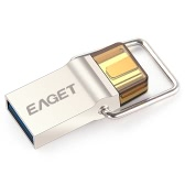 Eaget CU10 USB3.0 to Type-C OTG 32G Flash Pen Drive for Mac PC Devices