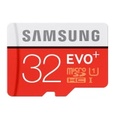 Samsung Memory 32GB EVO Plus MicroSDHC 80MB/s UHS-I (U1) Class 10 TF Flash Memory Card MB-MC32D/CN High Speed for Phone Tablet Cemara