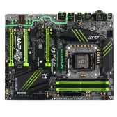 MAXSUN MS-Z170PRO Terminator for Intel Z170 LGA 1151 Socket ATX Desktop Computer Mainboard Motherboard System Board SATA III 6Gb/s USB 3.0 M.2 Games DDR4 Main Circuit Base Board with LED Light