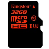 Kingston TF Micro SD Card Memory Card microSDHC/SDXC UHS-I U3 Class10 High Speed 90MB/s for Smartphone Tablet
