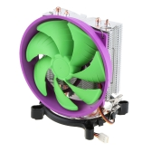 BDK CPU Cooler 12025 Fan 2 Heatpipes for Intel LGA 775/115X AMD AM2/754/939/940