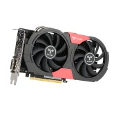 Colorful NVIDIA GeForce GTX iGame 1050 GPU 2GB 128bit Gaming 2048M GDDR5 PCI-E X16 3.0 Video Graphics Card DVI+HD+DP Port with Two Cooling Fans