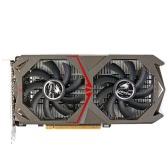Colorido GeForce 1050 GTX de NVIDIA GPU 2 GB GDDR5 128bit juego 2048M PCI-E X16 3.0 tarjeta de gráficos de vídeo DP del puerto + DVI + HDMI con dos ventiladores