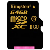 Kingston Gold Micro SD Card 64GB Memory Card UHS-I Speed Class 3 (U3) High Speed 90MB/s for Smartphone Tablet