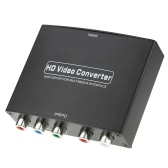 HD to YPbPr Component  RGB HD Video/Audio Converter Support R/L Audio Output