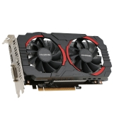 Colorfire RX 550 Ustorm-4GD5 4GB/128bit GDDR5 Gaming Graphics Card DP+HDMI+DVI Port with 2 Cooling Fans
