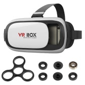 Private Virtual Reality Headset 3D Glasses + DIY Tri Fidget Spinner
