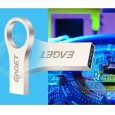 EAGET U9 32G Metal Flash Pen Drives Memory Disk Mini Lord of the Rings for Laptop Desktop