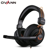 Ovann X7 Professional Esport Gaming Stereo Bass Headset Headphone Earphone Over Ear 3.5mm Wired with Microphone for PC Computer Laptop