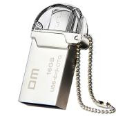 DM 32GB High Speed OTG USB 2.0 Memory Stick Flash Thumb Pen Drive Mini and Portable U Disk PD008